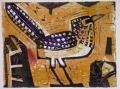 ba1  <b>d'arnaud's barbet</b>  ethiopia  monotype  c. A4 (21 x 29.7cms)  £120&#8208;Greg&nbsp;Poole
