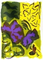 138‐4534 <b>bees & early spring flora 2</b>  screenprint 38 x 28 cms £POA‐Greg Poole