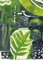 swifts arrival, royal fern ‐ monotype ‐ 38 x 28 cms ‐ £160‐GregPoole
