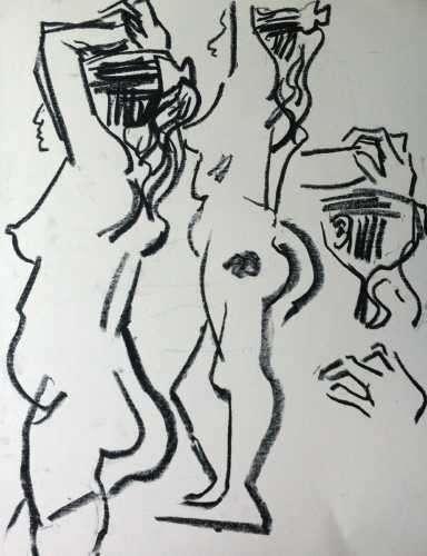 wax crayon <br />c.A2 - 59.4.x 42 x cms  <br />