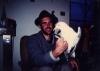 <b>Ringing a ring-billed gull 1985</b> &emsp;  &emsp;  &emsp;  &emsp;&#8208;Greg&nbsp;Poole