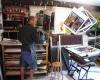 <b>Printing lammergieirs King's Cliffe studio c.2003</b> &emsp;  &emsp;  &emsp;  &emsp;&#8208;Greg&nbsp;Poole