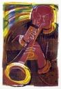 17&#8208;3705&emsp;<b>soprano saxophonist 11</b>&emsp;&emsp;&emsp;A2 (59.4 x 42 cms)&emsp;£150&#8208;Greg&nbsp;Poole