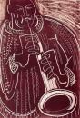 17&#8208;3706&emsp;<b>soprano saxophonist 12</b>&emsp;&emsp;&emsp;56 x 38.5 cms&emsp;£150&#8208;Greg&nbsp;Poole