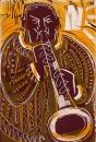 17&#8208;3708&emsp;<b>soprano saxophonist 14</b>&emsp;&emsp;&emsp;56 x 38.5 cms&emsp;£150&#8208;Greg&nbsp;Poole