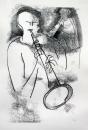 17&#8208;3714&emsp;<b>soprano saxophonist 7</b>&emsp;&emsp;&emsp;A2 (59.4 x 42 cms)&emsp;£150&#8208;Greg&nbsp;Poole