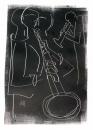 17&#8208;3716&emsp;<b>soprano saxophonist 9</b>&emsp;&emsp;&emsp;A2 (59.4 x 42 cms)&emsp;£150&#8208;Greg&nbsp;Poole