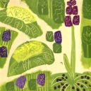 <b>spring woodland flora (square)</b>    acrylic    38 x 38 cms     £180&#8208;Greg&nbsp;Poole