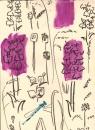 18-6983  -gouache & wax crayon -38 x 28cms - £80‐GregPoole
