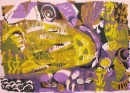 18‐4543 <b>long barrow mid summer 2</b>   52 x 73 cms £180&#8208;Greg&nbsp;Poole