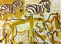 110‐5990<b>lion & zebra</b>Etosha, Namibia76 x 57 cms£160‐GregPoole