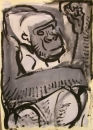 110‐887<b>gorilla studio study</b>A4‐GregPoole