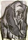 110‐888<b>gorilla studio study</b>A4‐GregPoole