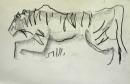 110‐4719<b>tiger</b>29.7 x 42 cms (A3)NFS&#8208;Greg&nbsp;Poole