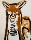 189‐884<b>fox</b>40 x 32 cms£80&#8208;Greg&nbsp;Poole