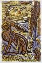189‐3547<b>hare, short eared owls  & dock</b>60 x 40 cm£190&#8208;Greg&nbsp;Poole