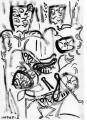 172‐4171<b>grasshoppers, self-heal & convolvulus</b>gouacheA4 (29.7 x 21cms)£50‐GregPoole