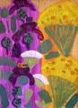 170‐4173<b>hoverfly ragwort  knapweed</b>acrylic76 x 56 cms£120‐GregPoole