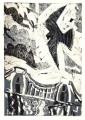 93‐5619<b>peregrine, avon gorge</b>monotype36 x 24 cms£140‐GregPoole