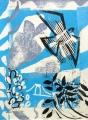 93‐5622<b>peregrine, whitebeam. ash - avon gorge</b>monotype76 x 56 cms£290‐GregPoole