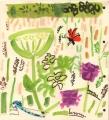 181‐6233<b>burnet moth, damselfly, hogweed & betony</b>bristol reservoirsgouache28 x 25 cms£90&#8208;Greg&nbsp;Poole