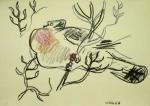 wax crayon <br /> A3 (29.7 x 42 cms) <br /> £50‐GregPoole