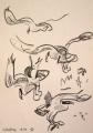 wax crayon <br /> A3 (42 x 29.7 cms) <br /> £80&#8208;Greg&nbsp;Poole