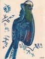 Prince Ruspoli's Turaco ‐ gouache & wax crayon ‐ 24 x 18 cms ‐ £75 ‐     ethiopia‐GregPoole