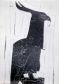 83‐5251 <b>long crested eagle</b>   c. A4 (29.7 x 21cms) £70&#8208;Greg&nbsp;Poole