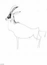 <b>sable antelope</b>    inkpen  A3  £50‐GregPoole