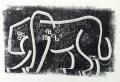 110‐5982<b>leopard</b>Etosha, Namibiamonotype36 x 53 cms£140‐GregPoole