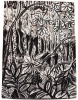 <b>barbados gully vegetation</b>      charcoal   80 x 59.4 cms   £250‐Greg Poole
