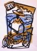 <b>barbados oistins fishmonger 1</b> &emsp;  &emsp; card print & acrylic &emsp; 30 x 21 cms &emsp; £60&#8208;Greg&nbsp;Poole