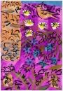 224‐7136<b>crete - lark borage</b>cretegouache & charcoal42 x 29.7 cms (A3)£150‐GregPoole