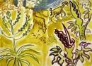 224‐7139<b>crete - goats asphodel</b>cretegouache & charcoal42 x 59.4 cms (c.A2)£150‐GregPoole