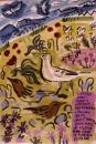 224‐7146<b>crete - pipits & larks</b>cretegouache & charcoal42 x 29.7 cms (A3)£90‐GregPoole