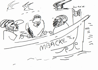 fishermen, skua & terns