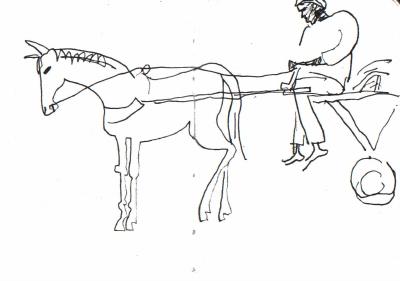 <i></i><br/>horse cart