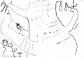 208‐6808<b>redstart in baobab</b>savannah nr. palmarinink penA5 sketchbook&#8208;Greg&nbsp;Poole