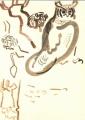 208‐6815<b>verraux's eagle owl</b>savannah nr. palmaringouache35 x 25 cms&#8208;Greg&nbsp;Poole