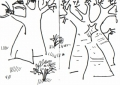 208‐6822<b>baobabs</b>savannah nr. palmarinink penA6 sketchbook&#8208;Greg&nbsp;Poole