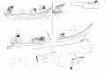 218&#8208;6938&emsp;<b>fishermen, caspian tern</b>&emsp;st louis&emsp;ink pen&emsp;A5 sketchbook&emsp;&#8208;Greg&nbsp;Poole
