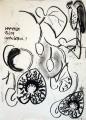 aristolochia & maribou ‐ charcoal ‐ 38 x 28 cm ‐ NFS‐GregPoole