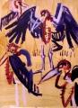 maribous ‐ acrylic ‐ 76 x 57  cms ‐ £250 ‐     ‐GregPoole