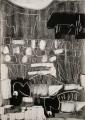 126‐5565<b>barnacle geese & cattle, islay</b>A2 (59.4 x 42 cms)£280&#8208;Greg&nbsp;Poole