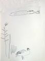 126‐4575<b>egyptian goose & hippo</b>A3&#8208;Greg&nbsp;Poole