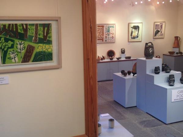 exhibitions at Muchelney & Sherborne