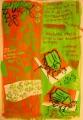 168‐4143<b>chafers & rowan</b>gouache & collageA3 (42 x 29.7 cms)£150&#8208;Greg&nbsp;Poole