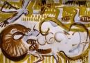 103‐5764<b>great bustard 001</b>extremadura, spainacrylic42 x 59.4 cms (c.A2)£120‐GregPoole