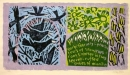 1‐5017 <b>rooks, early february</b>  woodcut 38 X 67 cms £POA‐Greg Poole